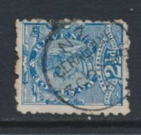 NEW ZEALAND, Class A Postmark  GERALDINE On 2.5d - Used Stamps