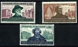 Italia Nº 615/17 En Nuevo. Cat.80€ - 1946-60: Mint/hinged