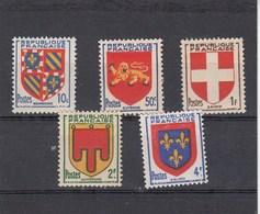 France - 1949 - N° YT 834/38** - Armoiries De Provinces - Nuovi