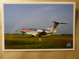 AMERICAN AIRLINES  FOKKER 100    PH-EZB - 1946-....: Ere Moderne