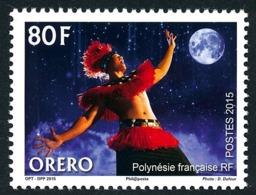 POLYNESIE 2015 - Yv. 1089 **  - Art Oratoire 'Orero'  ..Réf.POL24984 - Polynésie Française
