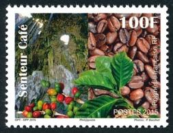 POLYNESIE 2015 - Yv. 1087 **  - Senteur: Café  ..Réf.POL24982 - Französisch-Polynesien