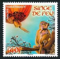 POLYNESIE 2016 - Yv. 1113 **  - Année Lunaire Chinoise Du Singe  ..Réf.POL24993 - Polynésie Française