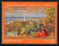 POLYNESIE 2015 - Yv. 1093 **  - Carte Postale De 1915  ..Réf.POL24987 - Polynésie Française