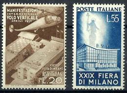 Italia Nº 595/96 Con Charnela. Cat.50€ - 1946-.. République