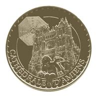 Monnaie De Paris , 2014 , Amiens , Cathédrale , Ange Pleureur Et Labyrinthe - Monnaie De Paris