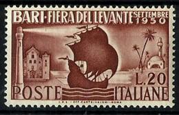 Italia Nº 565 En Nuevo. Cat.16€ - 1946-60: Mint/hinged