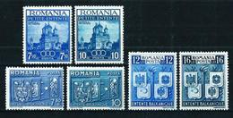 Rumanía (3 Series Diferentes) Nuevo*¨Cat.12€ - Unused Stamps