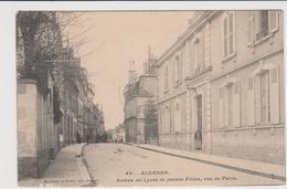 'auxerre Entrée Du Lycée De Jeune Filles,rue De Paris - Auxerre