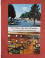 Maryland >  New Delmar Inn & Restaurant   3 Miles West Of Hagerstown     Ref 3746 - Hagerstown