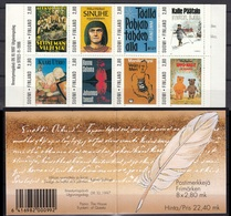 Finland 1997 Centenary Of Finish Writers Association Booklet MNH - Finland