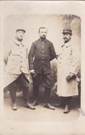LOT De 3 CARTES PHOTOS De CHOLET Pdt La 1ère Guerre Mondiale 1914 1918 - MILITAIRES Du 77 ° R.I Une Datée Du 12 Mai 1915 - Guerra 1914-18