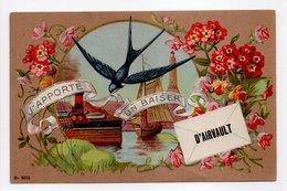 - CPA AIRVAULT (79) - J'APPORTE UN BAISER D'AIRVAULT - N° 8015 - - Airvault