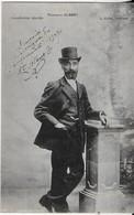 NARBONNE : PHOTO  De MARCELLIN ALBERT Avec Dédicace Sur Les évènements  De 1907- Carte Rarissime - - Narbonne