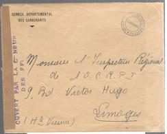 25253 - CENSURE DES F.F.I. - Marcofilia (sobres)