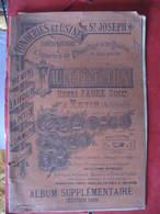 CATALOGUE - FONDERIES DE ST JOSEPH - REVIN - LAIFOUR - LA PETITE COMMUNE - FAURE PERE & FILS - 1899 - 1800 – 1899