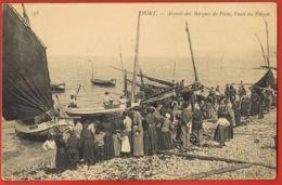 76- YPORT- Arrivée Des Barques De Pêche,Vente Du Poisson -cpa Voyagée 1906- Recto Verso -Paypal Sans Frais - Yport