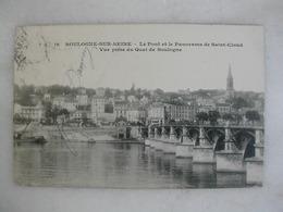 BOULOGNE SUR SEINE - Le Pont Et Le Panorama De Saint Cloud - Vue Prise Du Quai De Boulogne - Boulogne Billancourt
