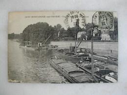 BOULOGNE SUR SEINE - Les Bords De La Seine (avec Péniches) - Boulogne Billancourt