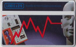 SUISSE - PHONE CARD - TAXCARD-PRIVÉE ***  LANDIS & GYR & PROJECT CARD 92 *** - Schweiz
