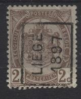 PREOS Roulette - LIEGE 1897 (position A). Cat 122 Cote 450. Léger Pli De Coin. - Roller Precancels 1894-99