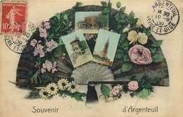 VAL D'OISE  ARGENTEUIL  SOUVENIR DE …. - Argenteuil