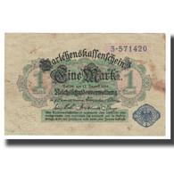Billet, Allemagne, 1 Mark, 1914, 1914-08-12, KM:50, SUP - [ 2] 1871-1918 : Impero Tedesco