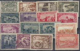 España 0566/582 F *  Iberoamericana. Sevilla 1930. Incompleto. Reimpresion - Variedades & Curiosidades