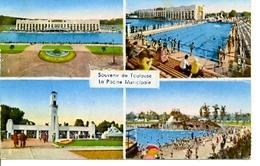 Postal Souvenir De Toulouse. La Piscine Municipale. Ref. 7-fra272 - Francia