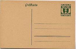 DANZIG  P 14  Postkarte  ** 1921  Kat. 6,00 € - Danzig