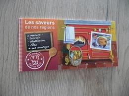 Carnet Saveurs N°2  Gastronomie Olitérés Dans Sa Période 12 TP Auto Adhésifs - Definitives