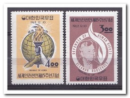 Zuid Korea 1963, Postfris MNH, 15th Anniversary Of The Proclamation Of Human Rights - Korea (Zuid)