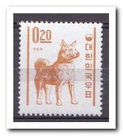 Zuid Korea 1962, Postfris MNH, Chindo Dog - Korea (Zuid)
