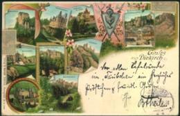 DIEKIRCH, Gruß Aus... Verwendet 1897 - Unclassified