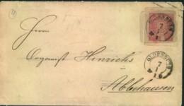 1868, 1 Groschen Aufbrauchsumschlag Ab OLDENBURG - U 17 (1 Sch. Oldenburg) - Oldenbourg