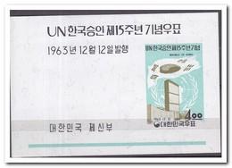 Zuid Korea 1963, Postfris MNH, UNO - Korea (Zuid)