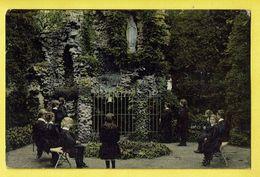 * Melsele (Beveren Waas - Gaverland) * (E. & B.) Pensionnat Demoiselles, Kostschool, école, School, Enfants, Grotte - Beveren-Waas