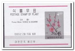 Zuid Korea 1965, Postfris MNH, Plants - Korea (Zuid)