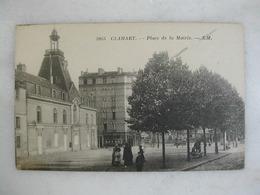 CLAMART - Place De La Mairie (animée) - Clamart