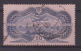 FRANCE : PA . N° 15 . OBL .  LEGER POINT CLAIR . 1936 . ( CATALOGUE YVERT )  . - Marcophilie (Timbres Détachés)