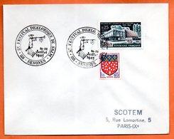 88 SENONES   FESTIVAL DE SALM  1965 Lettre Entière N° AB 11 - Storia Postale