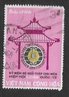 VIETNAM DEL SUD   - 1967 The 50th Anniversary Of Lions International   USED - Vietnam