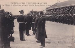 62 Calais, Funérailles Des 27 Victimes Du Pluviose, Le Président De La République … - Calais