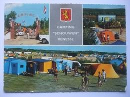 N35 Ansichtkaart Renesse - Camping Schouwen - Renesse