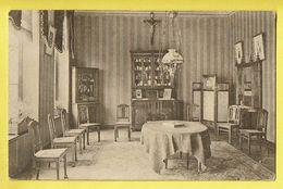 * Melsele (Beveren Waas - Gaverland) * (nr 9) Institut ND De Gaverland, Parloir, Spreekkamer, Intérieur, Rare, Old - Beveren-Waas