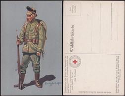 Germany - Roten Kreuz, Unteroffizier Des (K. Sächs) Schützen (Füsilier-) Regt. Prinz Georg Nr. 108 (Dresden) 1914-15. - Deutschland