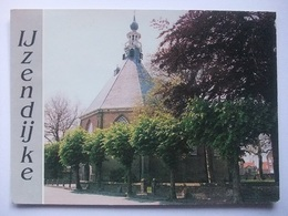 N35 Ansichtkaart IJzendijke - Ned. Herv. Kerk - 1991 - Pays-Bas