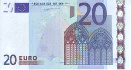 Italia 2002 - Banconota Da  20 Euro Duisenberg. FDS - J003C3 - EURO