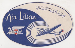 AIR  LIBAN - Billets D'embarquement D'avion