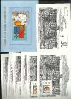 ESPAÑA, SPAIN EDIFIL 3711A/3711G. MI.BLOCKS 77/83 MNH** .CARPETA COMPLETA. - 1991-00 Unused Stamps